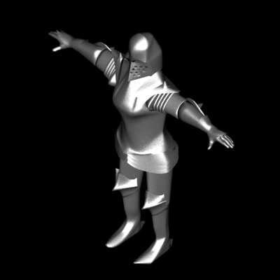 3d max knight
