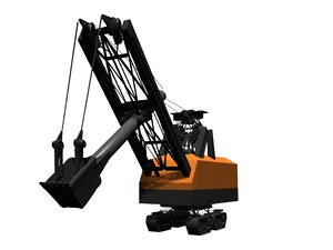 lwo steam shovel