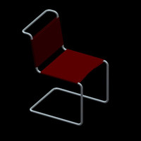 3ds max mart stam chair