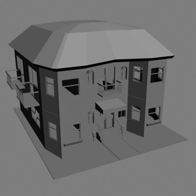 compleat house 3d model