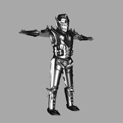 3dsmax knight