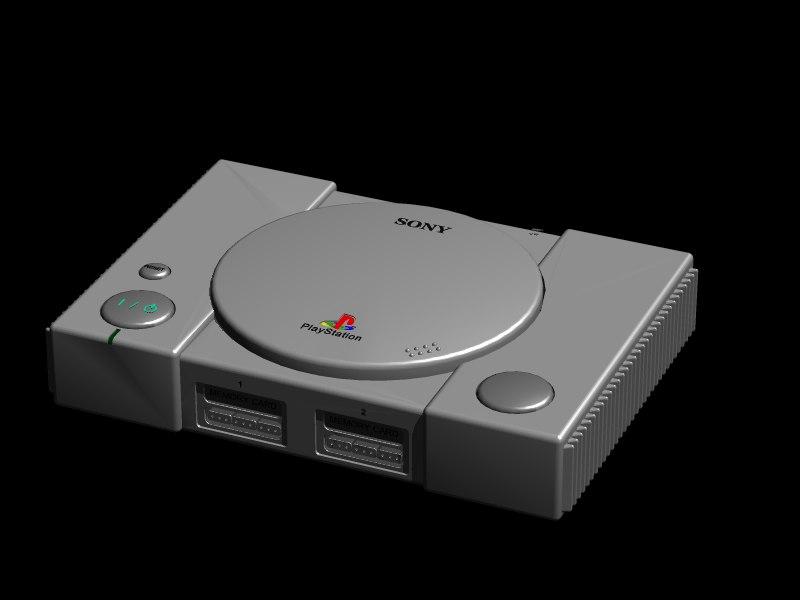 playstation 3d model