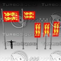 3d flag banner