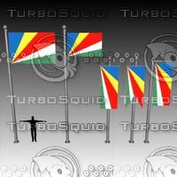 banner flag 3d max