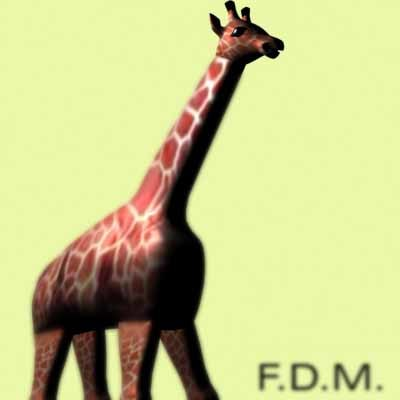 3d giraffe model