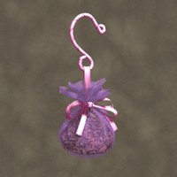 3d hanging sachet zipped
