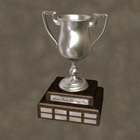 silver cup zipped 3d max