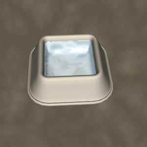max dog water dish zipped