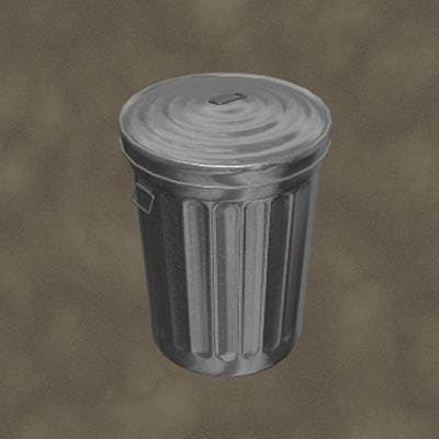 new trash zipped 3d max