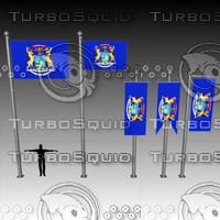 3ds max flag u