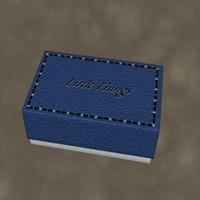 3d model small box zipped