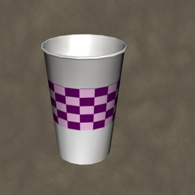 max plastic cup zipped