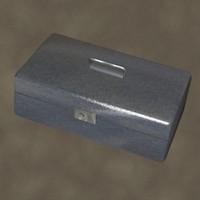 strong box zipped 3d max