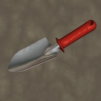 trowel zipped 3d model
