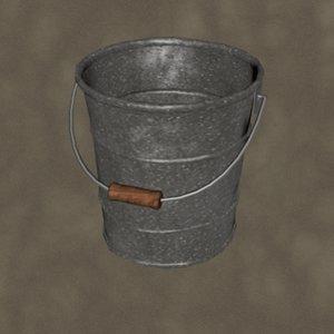 3d pail zipped