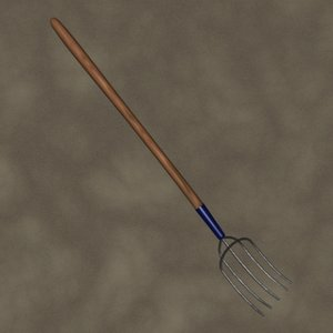 pitch fork zipped 3d 3ds