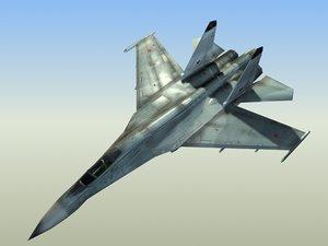 3ds max russian su27b