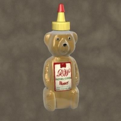 maya honey bear zipped
