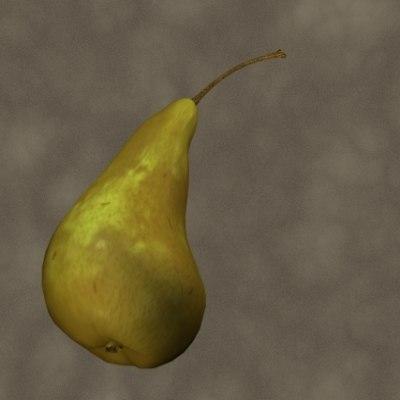 3d bosch pear zipped
