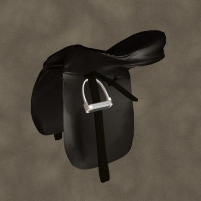 max dressage saddle zipped