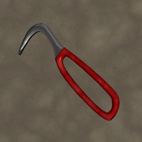 3ds hoof pick zipped