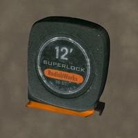 3d tape measure zipped
