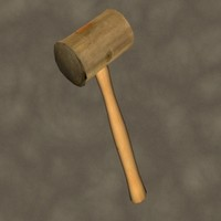 3ds max rawhide mallet zipped