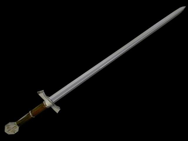steel crusader 3d obj