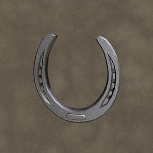 3d horseshoe new zipped model