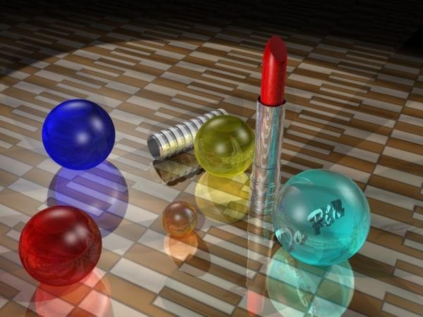 3d lipstick