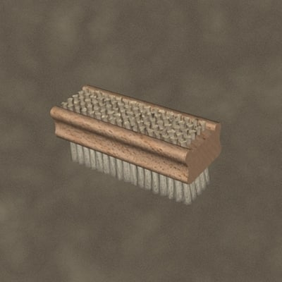 brush zipped 3d 3ds