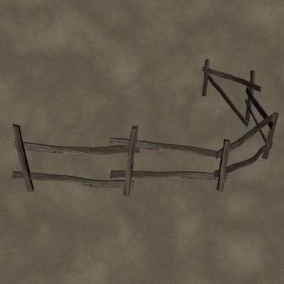 max rickety fence zipped