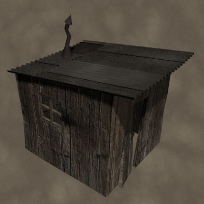 dxf old shack zipped