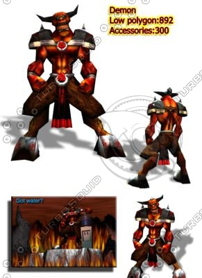 demon 3d max