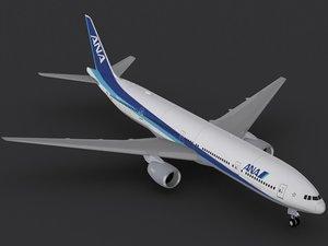 3ds max b 777-300 er ana