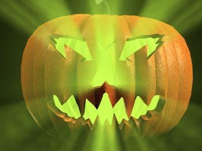 3dsmax halloween pumpkin set