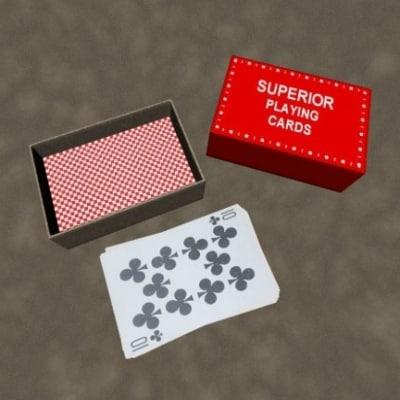 zipped card 3d model