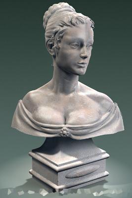 sculpture 3d model