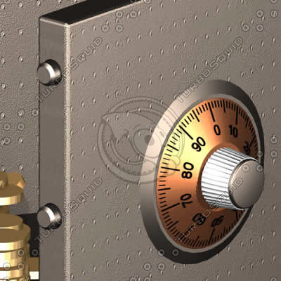3d safe combination lock