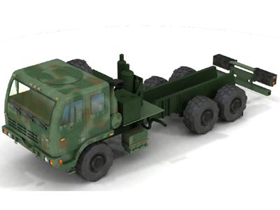 fmtv wrecker 3d model