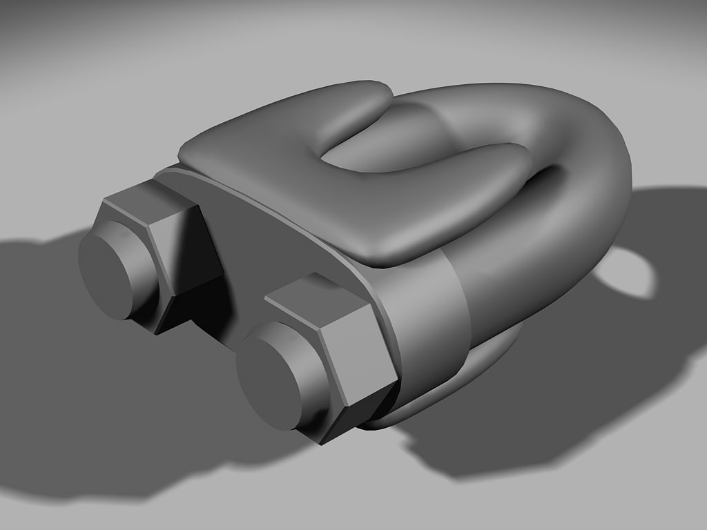 drop forge rope 3d max