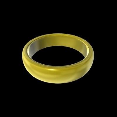free c4d model ring lotr