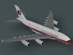 airbus a380-800 china eastern 3ds