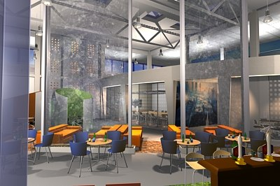 interior office set 3d model