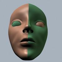 3dsmax human head
