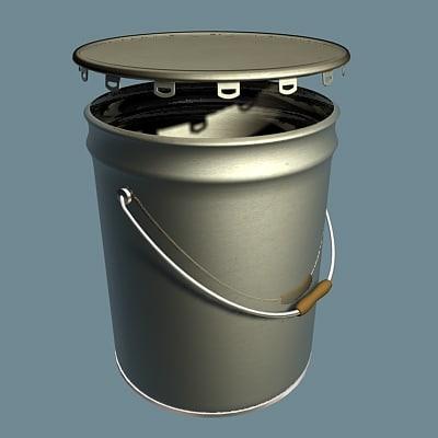 3dsmax pail