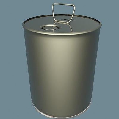 pail 3d model