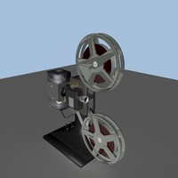3d 3ds film projector