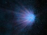 3d model comet meteor