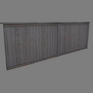 max photo realistic fence